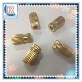厂家热销铜嵌件 通预埋螺母 精密铜螺母