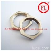 不锈钢非标件 特质扁形六角螺母
