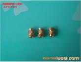 八字纹热熔铜螺母M4*6.3*6.5