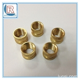 深圳厂家批发H62铜嵌件螺母M10/黄铜螺母/紫铜螺母
