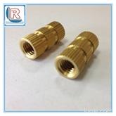 五金厂家批发铜花母 直纹带槽铜螺母M2~M10