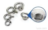 正宗304不锈钢吊环螺母 圆环螺母 吊环螺帽  M6