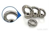 正宗304不锈钢吊环螺母 圆环螺母 吊环螺帽 M12