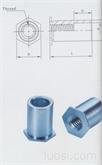 通孔压铆螺母柱