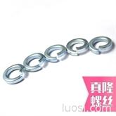 促销价白锌弹垫弹簧垫圈弹簧垫片弹圈杭州开口垫圈M3--M20镀镍/叻