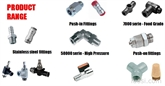 AIGNEP安耐气动元器件 转接头 功能接头 空压管路 球阀产品