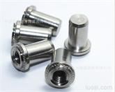 低價銷售圓壓鉚螺母 不銹鋼防水螺母 壓鉚螺母柱B/BS 封閉壓鉚螺帽BS