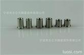 PEM標準壓鉚螺母柱, BSOS/BSO/BSOA不銹鋼鐵鋁材質盲孔壓鉚螺母柱制造