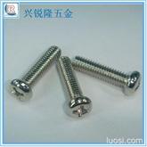 镀镍 半圆头/盘头机螺丝 米字槽机械螺丝BM3*8