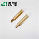 专业供应非标紧固件 六角铜螺柱 接线柱非标阴阳螺柱 隔离柱双通