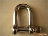 厂家直销不锈钢D型卸扣、弓型卸扣、游乐配件