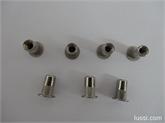 专业生产不锈钢铆螺母 现货供应不锈钢铆螺母 平头铆螺母 M4*11
