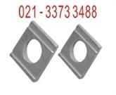 槽钢方斜垫圈-DIN434-工字钢方斜垫圈-德标方斜垫圈-跃冠大量供应