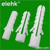 专业生产塑料膨胀管 多品种 多规格打入式两翅鱼形膨胀管套