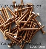 铜螺丝方头14-24NS特殊螺纹螺丝
