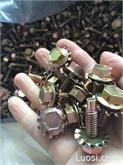 厂家专业定制组合螺丝 美标螺栓与带齿垫圈组合 非标二组合