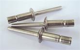 铝内锁拉丝铆钉,铝合金口杯型抽芯铆钉,抗震减压铆钉,集装箱用铆钉