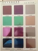 不锈钢彩色平板 304不锈钢黑色镜面板材,佛山 深圳销售