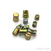 锤仔螺母/锤头螺帽 圆柱螺母家具螺母 二合一连接件