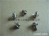 组合螺钉,方垫片组合螺钉7*7M3.5-8
