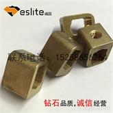 铜接线柱 非标铜件 表面镀镍 厂家直销 来图打样