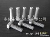 领奇高品质带齿8.8级29/20型哈芬螺栓M12X60,防滑带齿T型螺栓
