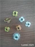 浙江邦利 专业生产 定做 四爪钉 四爪螺母,规格齐全