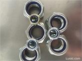 GB /T889.1-2000 ,ISO704 1型非金属嵌件六角锁紧螺母,尼龙锁紧螺母尼龙自锁螺母