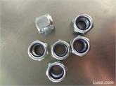 德标DIN 985-1987 非金属嵌件薄型锁紧螺母,尼龙自锁螺母,尼龙锁紧螺母