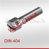 开槽带孔球面圆柱头螺钉 DIN 404