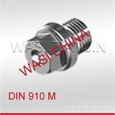 WASI供应DIN910六角头喉塞圆柱头螺塞现货,天津万喜德国原装进口