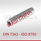 WASI CHINA供应DIN7343螺旋夹紧销现货德国原装进口
