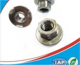供应法兰焊接螺母M10 六角法兰焊接螺帽