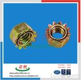 镀锌K型螺母 带齿螺母 医疗器材用通讯类产品螺帽