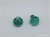 DIN6921GB5789 8.8级汽配外六角法兰螺栓高强度带垫螺丝M8*10-100