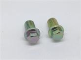 4.8 8.8 10.8级 外六角带垫非标螺栓 小脑外六角螺丝 定制