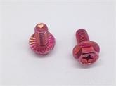 紧固件厂家4.8级汽配螺丝细牙外六角法兰十字六角带垫螺丝M5*6-30