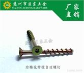 长期供应QC 856 - 2011 梅花槽沉头自攻螺钉