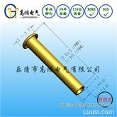 非标库存铆钉 外径2 长度12.4 管状全空心铜铆钉
