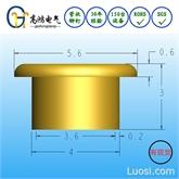 常用库存 五金配件铆钉4*0.2*3 GB975-86管状全空心铜铆钉