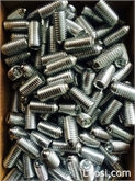 非标钢珠紧钉 M12*23 镀锌 可以按照客户要求定做细牙产品