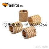 滚花螺母/非标铜螺母/精密车件加工/CNC数控车床/来图定制