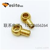 铜螺母 铜车件 铜卡件 铜配件加工 自动车床加工 数控车床加工 非标铜件