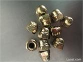 DIN986非金属嵌件尼龙锁紧盖帽螺母M10