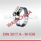 万喜WASI供不锈钢管卡喉箍DIN3017