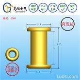 铆钉2.5*6.2mm,双帽铆钉,GB975空心铆钉,异型全空心铜铆钉