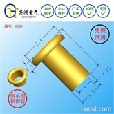 铆钉1.5*3mm,微小型铆钉,电子配件铆钉,铜铆钉,库存现货L7继电器空心铆钉