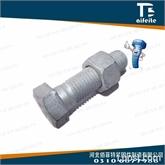 高强度热镀锌六角螺栓 8.8级热镀锌配套螺栓螺母 河北佰菲特紧固件制造有限公司