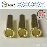 高鸿DB010铆钉2*12.4mm,管状铆钉,空心铆钉,优质铜铆钉