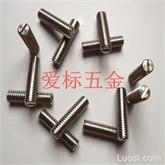 不锈钢美制开槽平端紧定螺钉